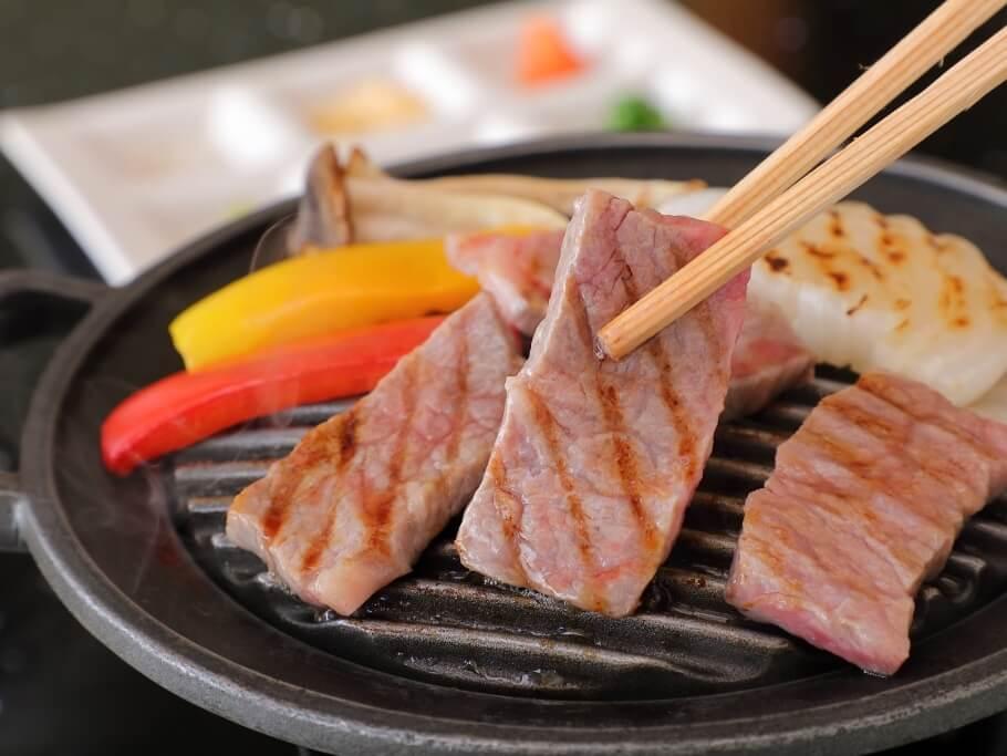 牛肉自慢の宿ならでは★夜は神戸牛しゃぶしゃぶ付会席!朝もなんとステーキ付で大満足♪プラン